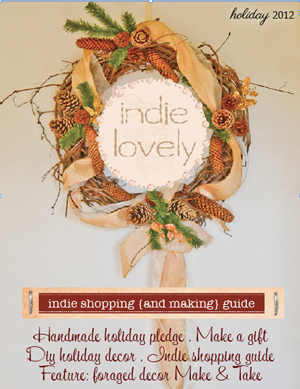 Indie Lovely Holiday issue cover 300