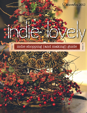 indie lovely december 2012 cover ad 300 blog size