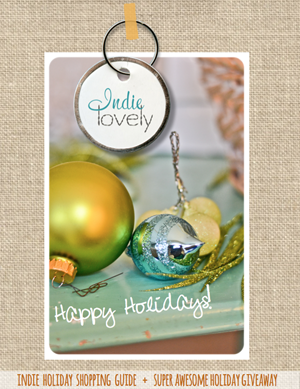 indie lovely holiday 2013 cover 300