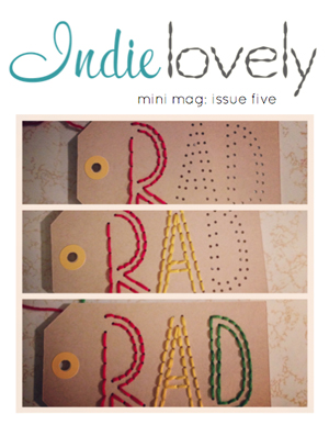 indie lovely mini mag issue 5 cover small