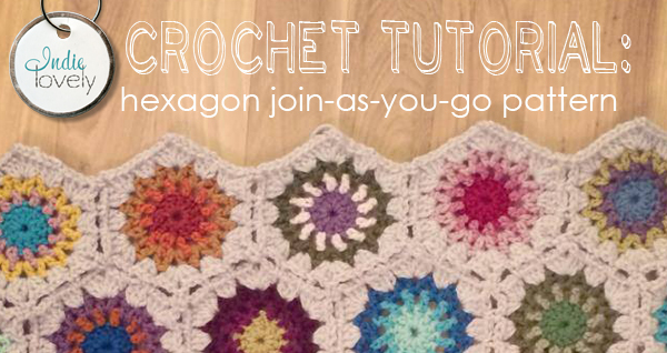 Crochet A Blanket Video Tutorial For Joining Hexagons