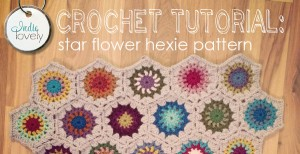 crochet tutorial hexie blankie video image fb